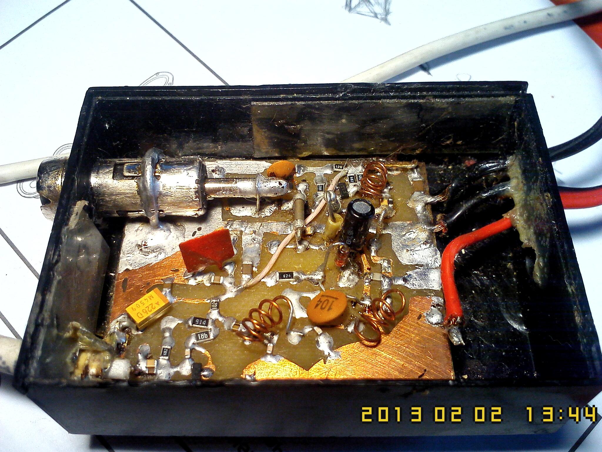 Автомобильный FM Уcилитель для автомагнитолы радио